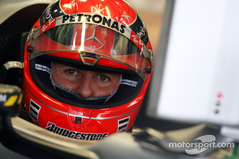 Fellow drivers express their support for Schumacher on social media