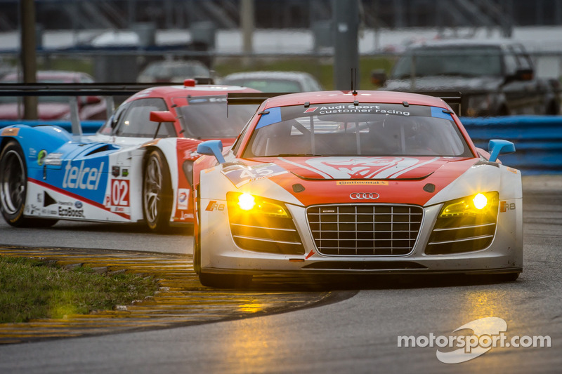 Pumpelly tops GTD times in Daytona testing
