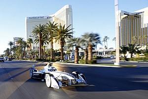 Formula E debuts in Las Vegas