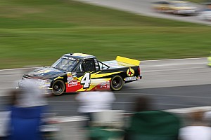 NASCAR Truck Testing report Trucks finish up preseason thunder