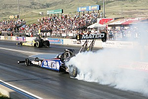 NHRA Testing report Antron Brown tops Top Fuel category at PBIR