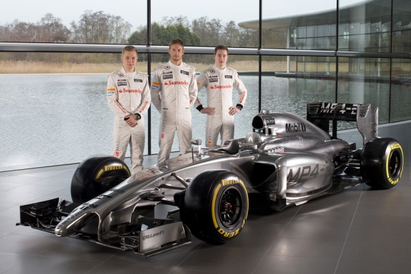 McLaren Mercedes first to launch 2014 car - the MP4-29