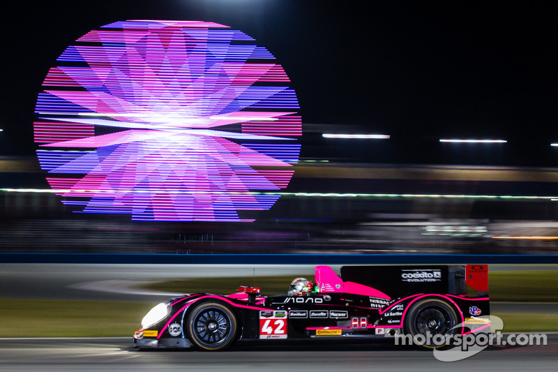 The OAK Racing Morgan-Nissan LM P2 makes a very promising debut at Daytona