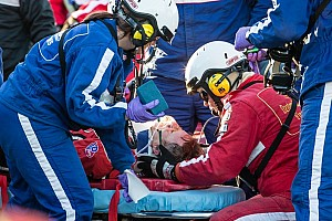 IMSA Breaking news Gidley remains in hospital