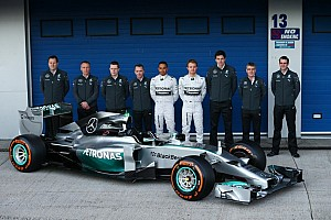 Mercedes AMG F1 unveils the W05 for 2014 season