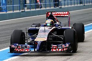 Toro Rosso, Jerez day 1