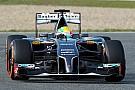 Sauber F1: Jerez day 2