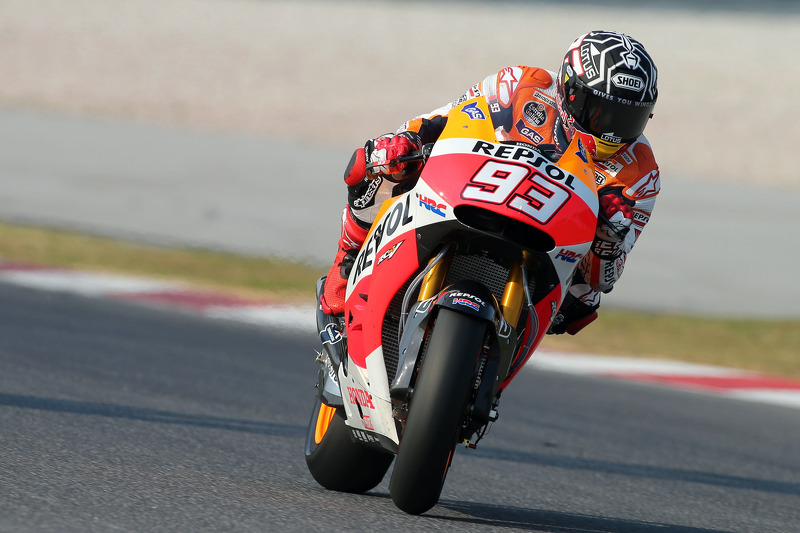 Dominant Marquez ends Sepang pre-season test with lap record pace
