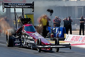 NHRA Qualifying report Massey off to a quick start at NHRA season opener at Pomona with No. 5 qualifying spot