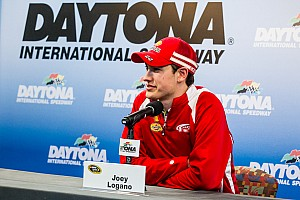 Joey Logano press conference at Daytona Media Day