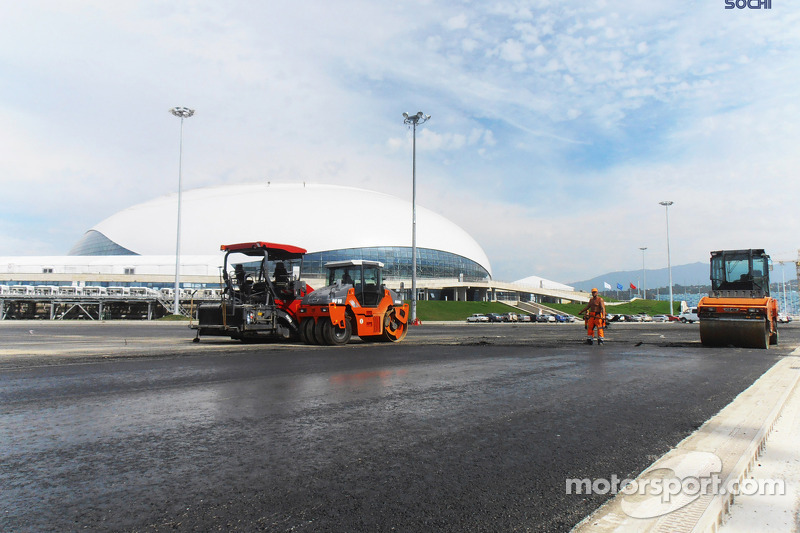Promoter insists Sochi will be ready for race