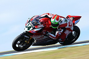 World Superbike Testing report The Ducati Superbike Team concludes two days of official testing at Phillip Island