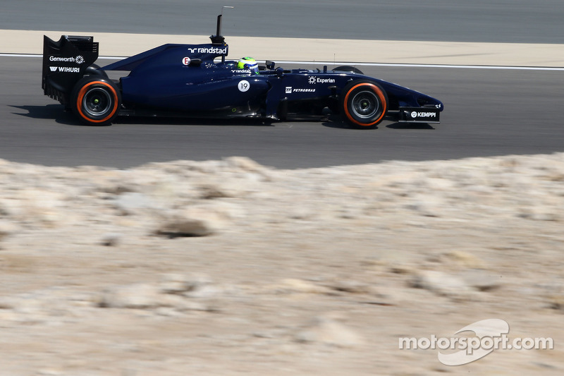 A difficult day for Williams F1 Team at Bahrain testing