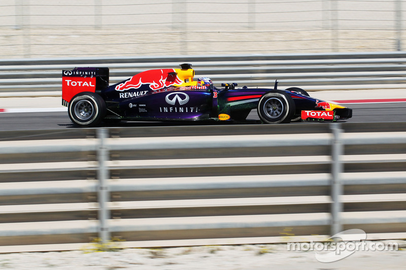 Some good laps for RB10 today at Bahrain
