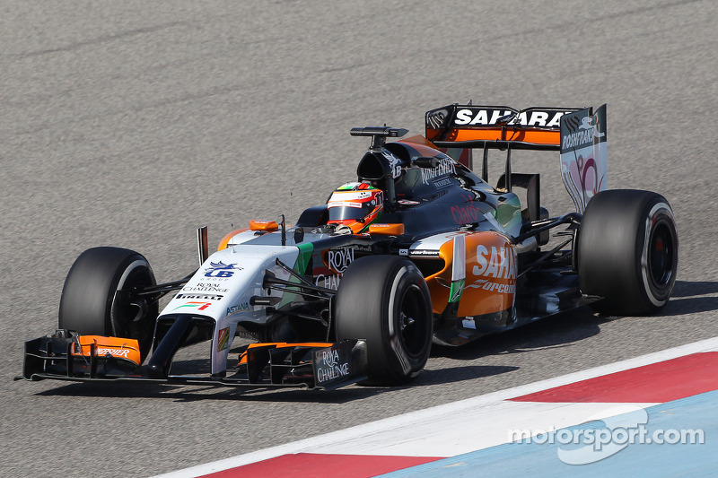 Sahara Force India concludes its first week of testing in Bahrain