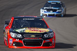NASCAR Sprint Cup Race report Ill-Timed Caution thwarts top-10 effort for Stewart at Phoenix