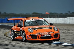 Kelly-Moss Makes Statement in Sebring To Start 2014 Porsche GT3 Cup Season
