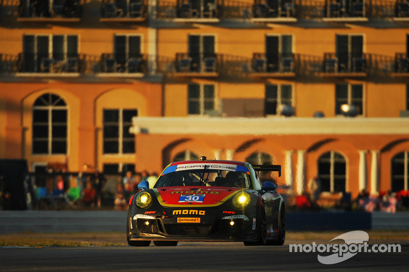 Nielsen takes two 5th place finishes in Sebring to open 2014 Porsche GT3 Cup USA Season
