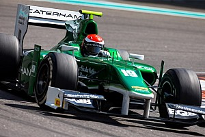 Alexander Rossi leads the way in Sakhir