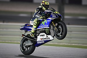 MotoGP Practice report Yamaha riders fight for grip in Qatar as MotoGP begins