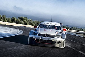 WTCC Testing report Citroën sets the pace in official test