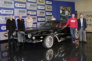 Dale Earnhardt Jr. drives iconic Elvis car ahead of AutoFair