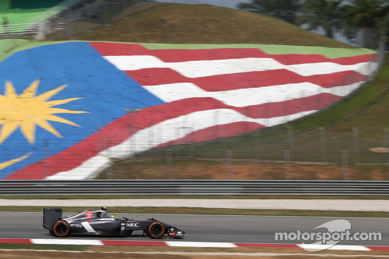 Cars worked well Sauber drivers at Sepang practice