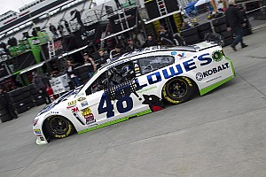 NASCAR Sprint Cup Qualifying report Jimmie Johnson and Jeff Gordon lead Team Chevy in qualifying at Martinsville