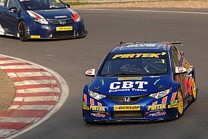 BTCC Race report Double delight for Jordan before Turkington opens his account
