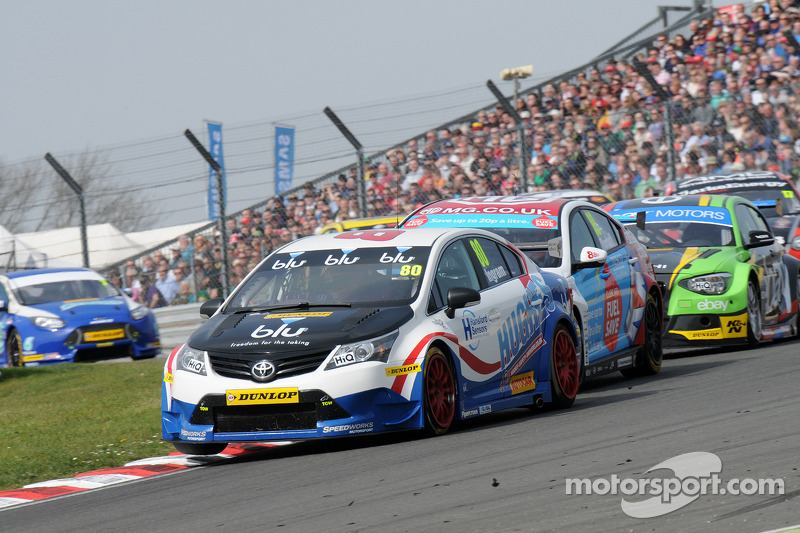 'Mega' Tom Ingram mixes it with the big boys on brilliant BTCC debut