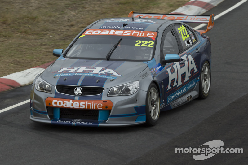 Challenging day for Percat at Winton