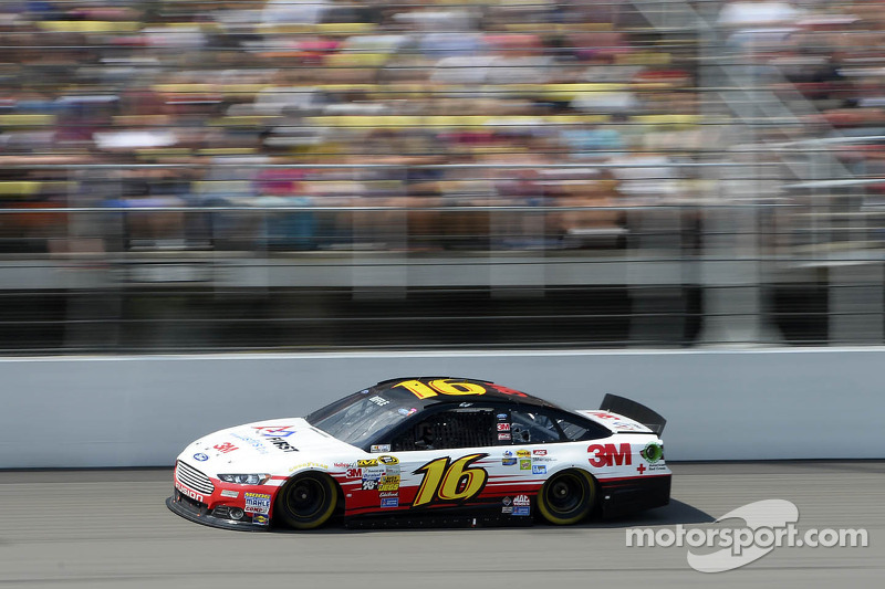 Fast speeds headline day two of tire test at MIS