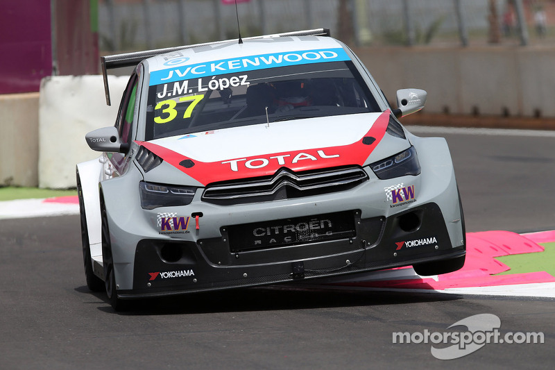 José María López leads Citroën trio in race 1 at Marrakech