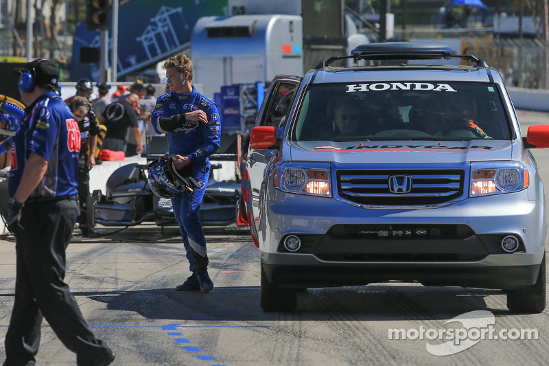 Promising day ends early for Rising Star Racing's Newgarden