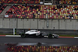 Both McLarens stuck in Q2 at China