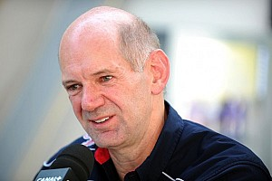 WEC Special feature Adrian Newey pays Webber a visit in Silverstone
