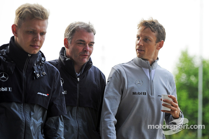 Magnussen prefers Button over Alonso as teammate