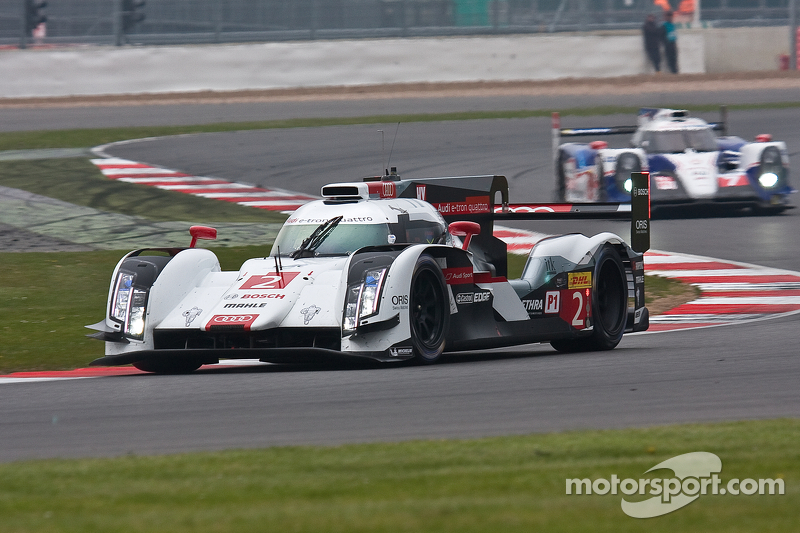 Benoit Treluyer at Silverstone: A shot in the dark