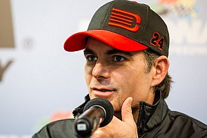 NASCAR Sprint Cup Interview Jeff Gordon press conference following his second-place Richmond finish