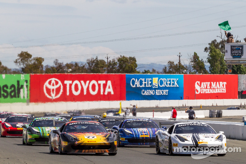 Ferrari Challenge at Sonoma - race weekend report