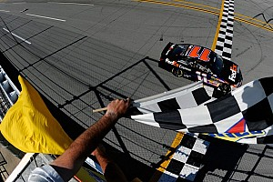 NASCAR Sprint Cup Race report Hamlin victorious at Talladega