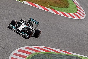 Mercedes secures front row in qualifying for the Spanish GP