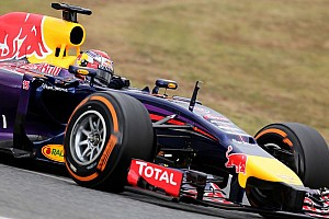 Barcelona test - Day 1 - Infiniti Red Bull Racing