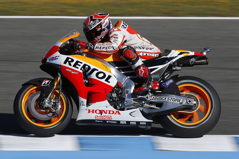 Bridgestone: Marquez on record pace in Le Mans Friday practice