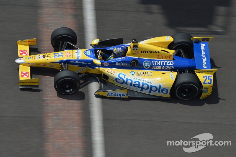 Marco Andretti leads Honda effort as Indianapolis 500 practice concludes