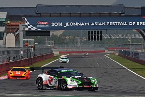 GT Qualifying report Craft-Bamboo Racing claims GT Asia Series podium in Korea