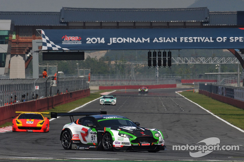 Craft-Bamboo Racing claims GT Asia Series podium in Korea
