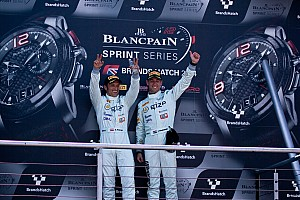 Blancpain Sprint Race report Clean sweep for Grasser Racing Lamborghini at Brands Hatch