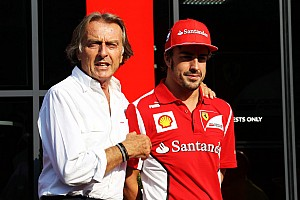 Formula 1 Breaking news Montezemolo moves to ease Alonso frustration
