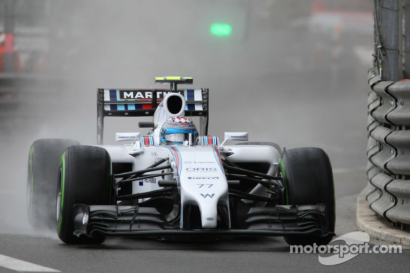 Williams' Bottas has a positive day in Monte Carlo